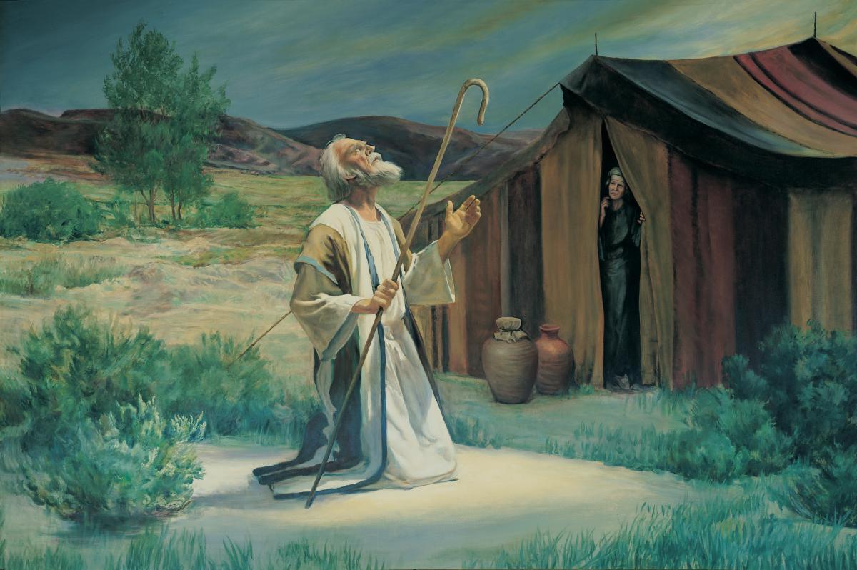 Abramo parla con Dio