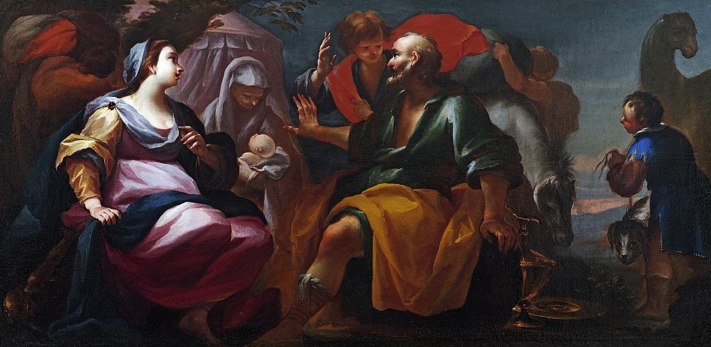 Nascita di Isacco