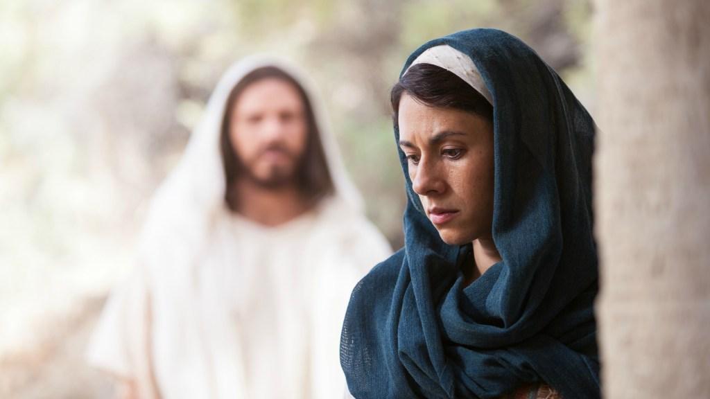 Maria Maddalena e Gesù